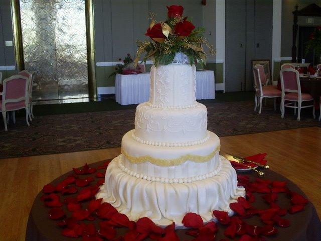 esküvői torta díszítése Kiprobalt receptek   Torták esküvői torta díszítése