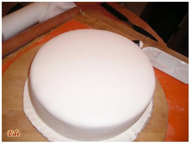 fondant recept tårta